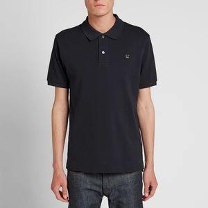 ACNE Studios Kolby dark navy/black polo shirt